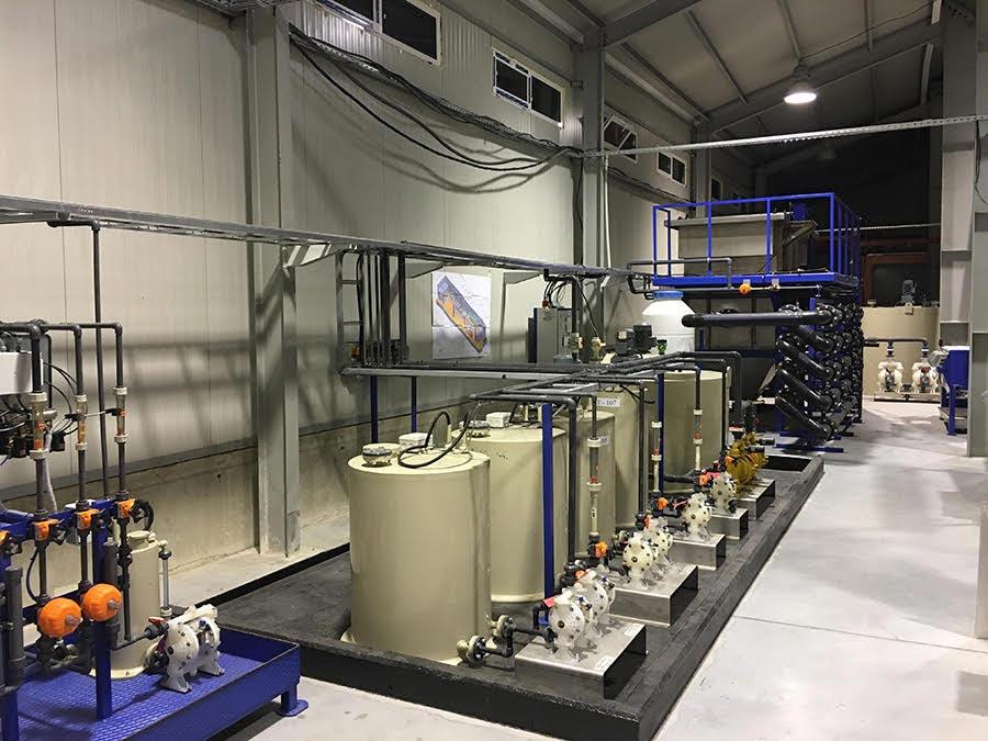 Kimyasal transfer ve dozlama pompaları