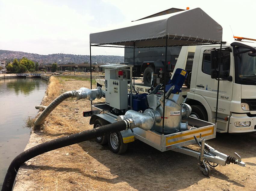 parcalayici mobil pompa uniteleri